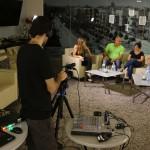 הפקת שידור חי באינטרנט ניתוב מצלמות
